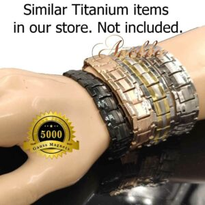 SIMILAR TITANIUM BRACELET IN OUR STORE